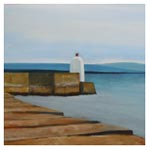 Pier End - Burghead, 2011 (oil on canvas)