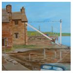 Pier Muse - Stromness, 2011 (oil on linen)