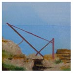 Skerry Winch, 2011 (oil on canvas on board)